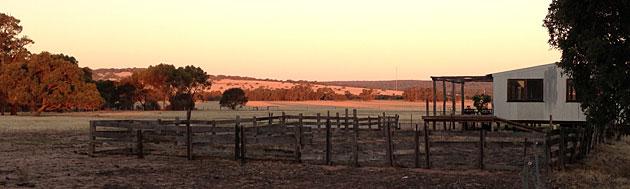 Shearing shed accommodation, Gingin, Western Australia