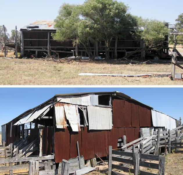 Old shearing shed, Gingin, Western Australia