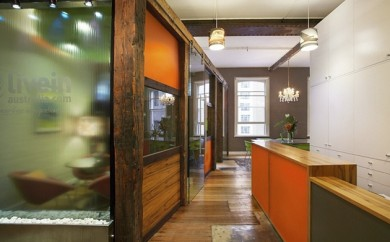 Recycled timber in modern interiors