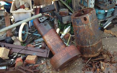 Old metal junk