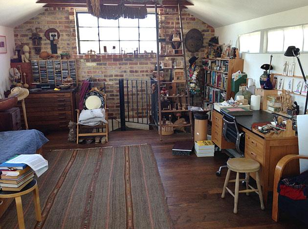 Garden and studio of sculptor Theo Koning, Fremantle, Western Australia