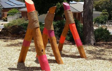 Nature playground, Raw Boards, Bendigo
