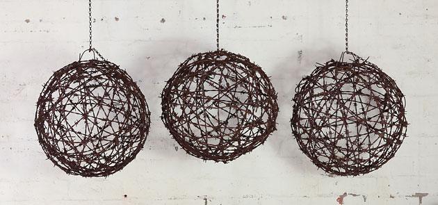 Barbed wire balls, Mulbury, Melbourne
