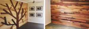 Recycled timber furniture showroom, New Life Timber, Bendigo