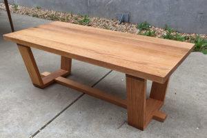 Recycled timber table, New Life Timber, Bendigo