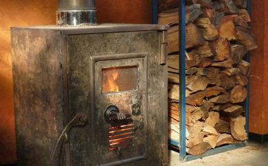 Upcycled safe heater