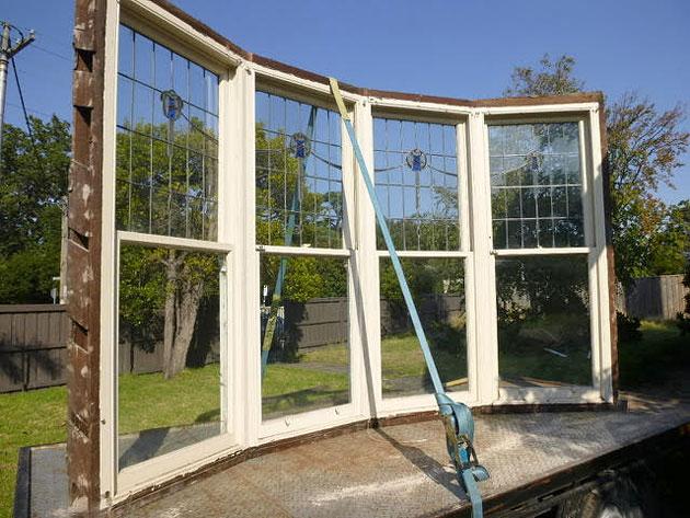 Pre-demolition strip out, Hughes Renovators Paradise, Melbourne