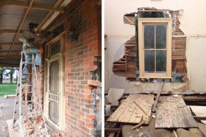 Pre-demolition strip out, Restore Recycle, Bendigo