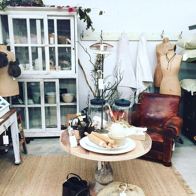 Vintage furniture and homewares