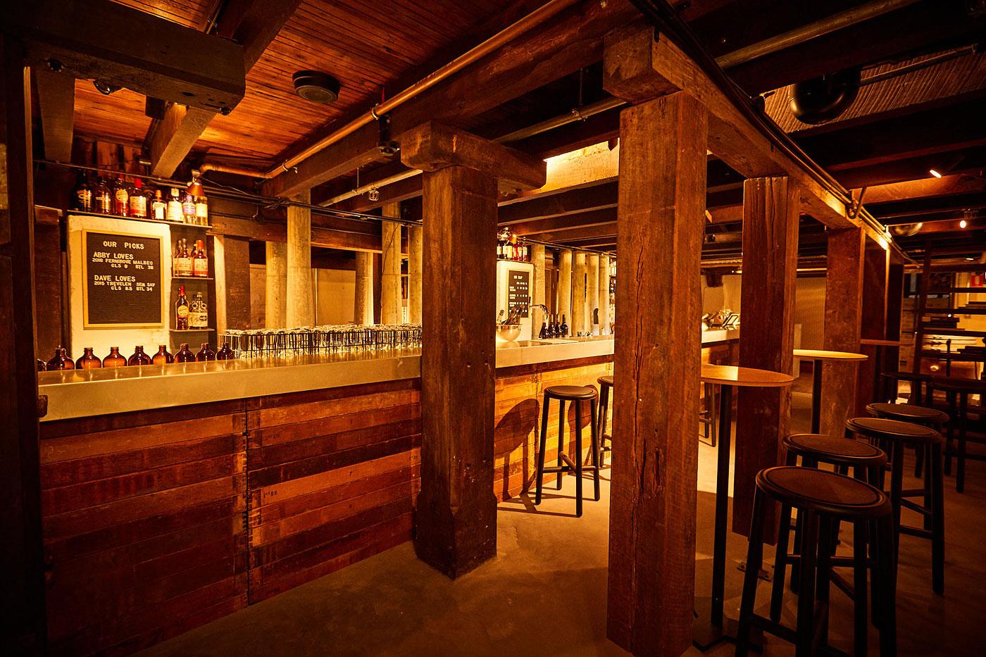 Basement Cordial Bar at Premier Mill Hotel, Katanning, Western Australia.
