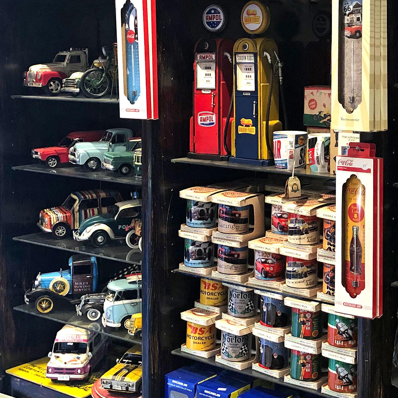 Vintage toys and garagenalia, Gas Art, Melbourne
