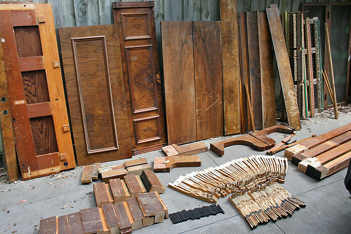 Secondhand piano timber for sale, Pianos Recycled, Melbourne